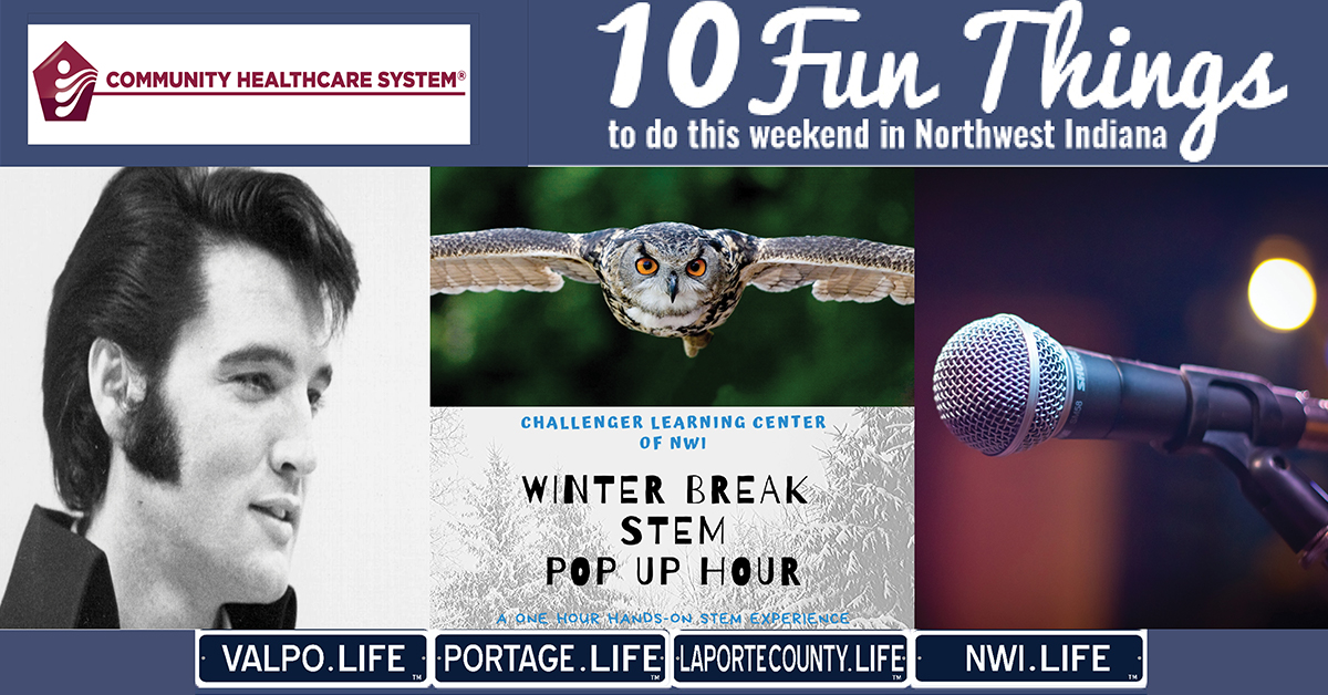 10 FUN THINGS TO DO IN NWI THIS WEEKEND January 3-5, 2020
