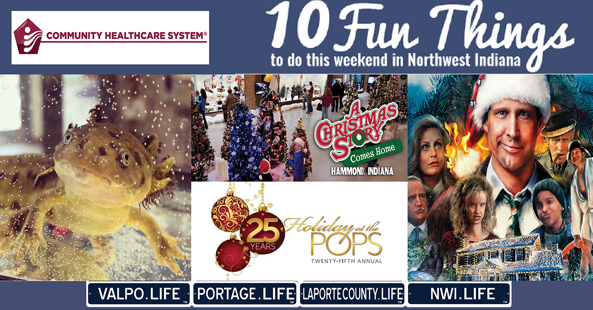 10 FUN THINGS TO DO IN NWI THIS WEEKEND DECEMBER 13-15, 2019