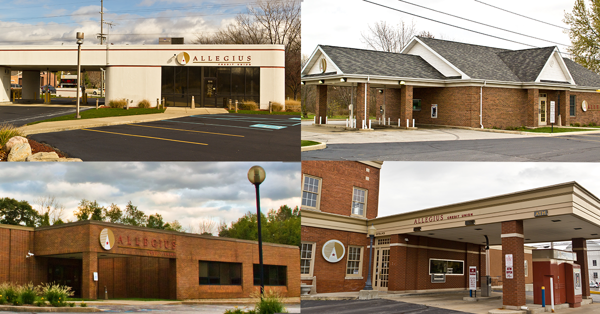 Allegius branch location lobbies to reopen June 1