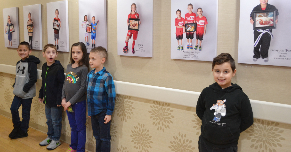 Hall of Hope dedicated at Franciscan Health Crown Point NICU