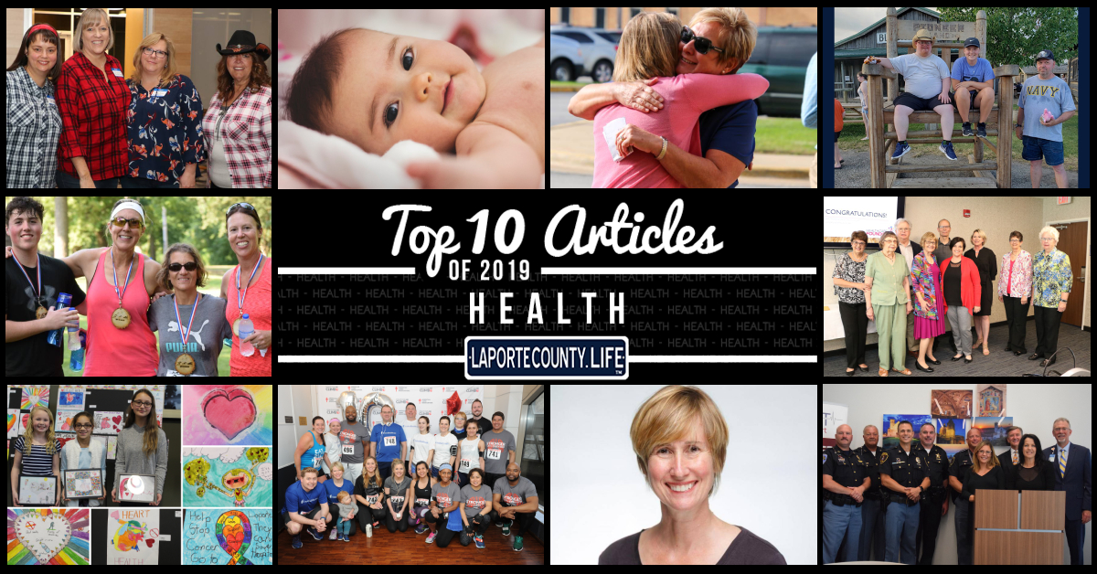 Top 10 Health Articles on LaPorteCounty.Life in 2019