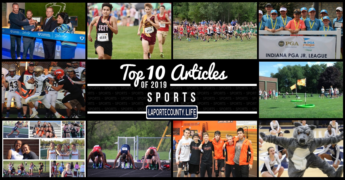 Top 10 Sports Articles on LaPorteCounty.Life in 2019