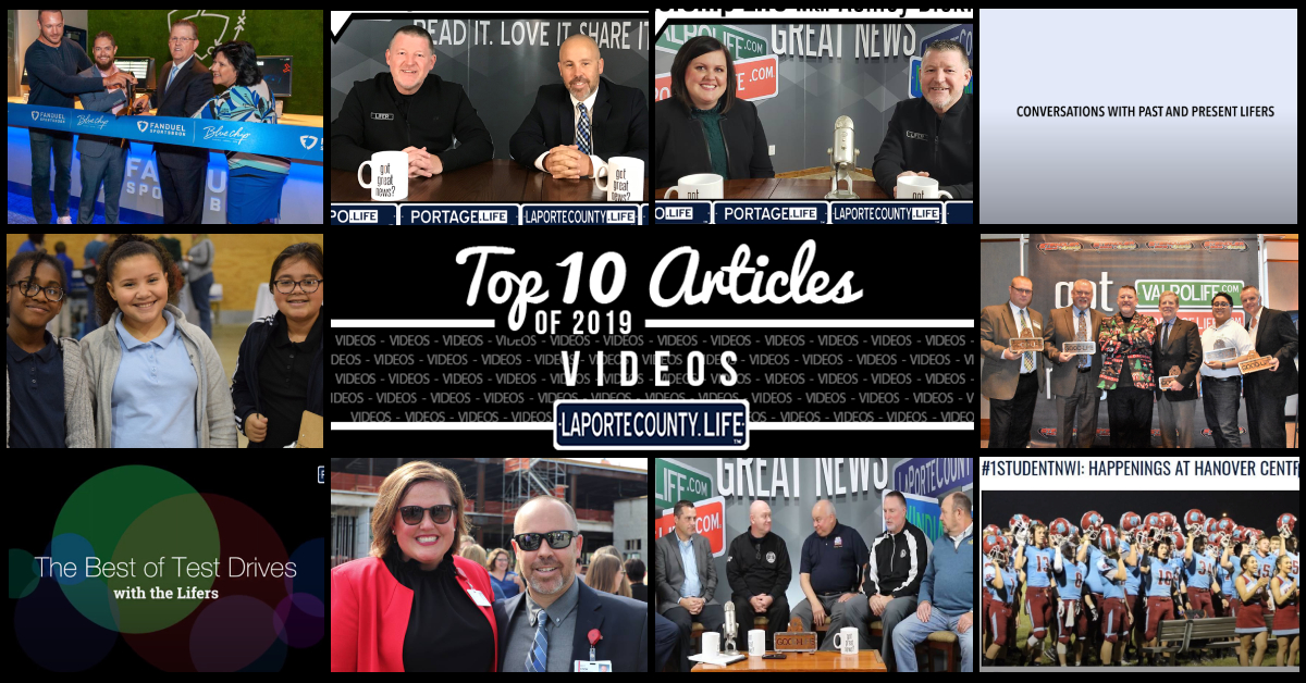 Top 10 videos on LaPorteCounty.Life in 2019