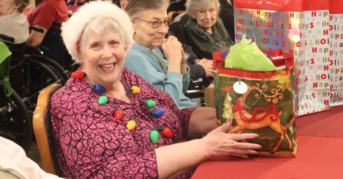 Christmas celebration with Life Care Center of Valparaiso