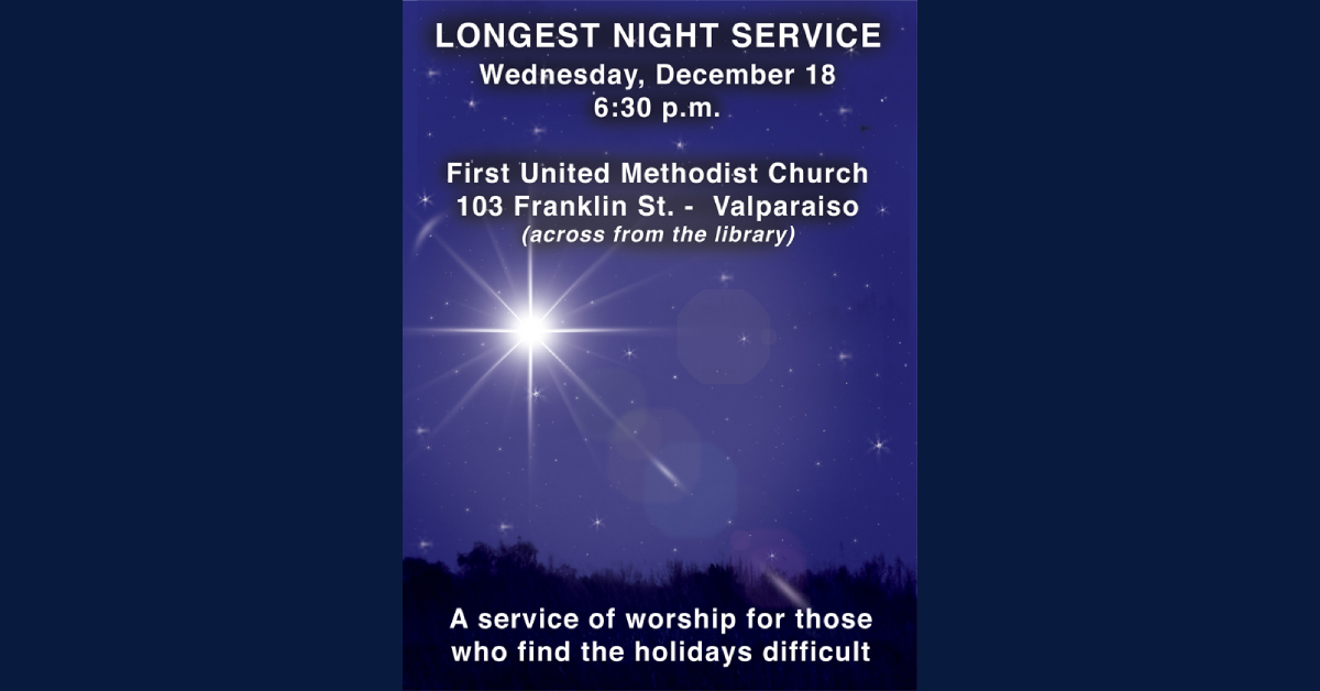 Longest Night Service for Those Who Grieve