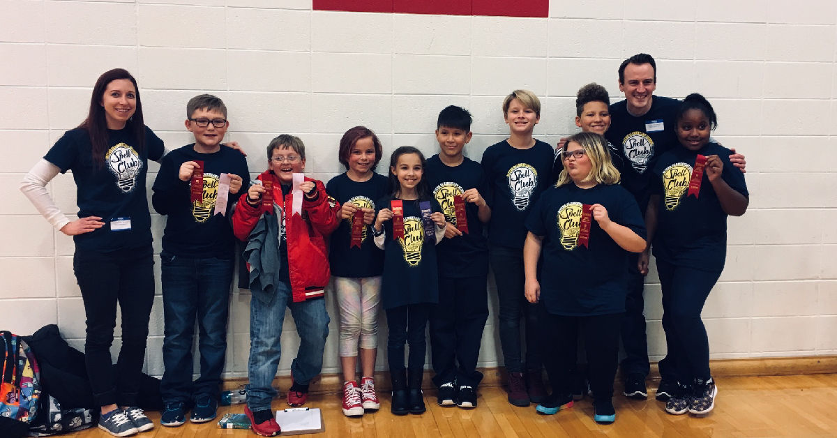 Myers Elementary School places 2nd in spell bowl