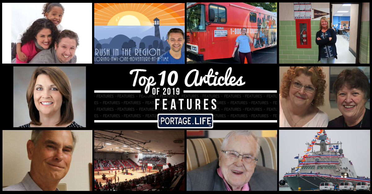 Top 10 feature articles on Portage.Life in 2019