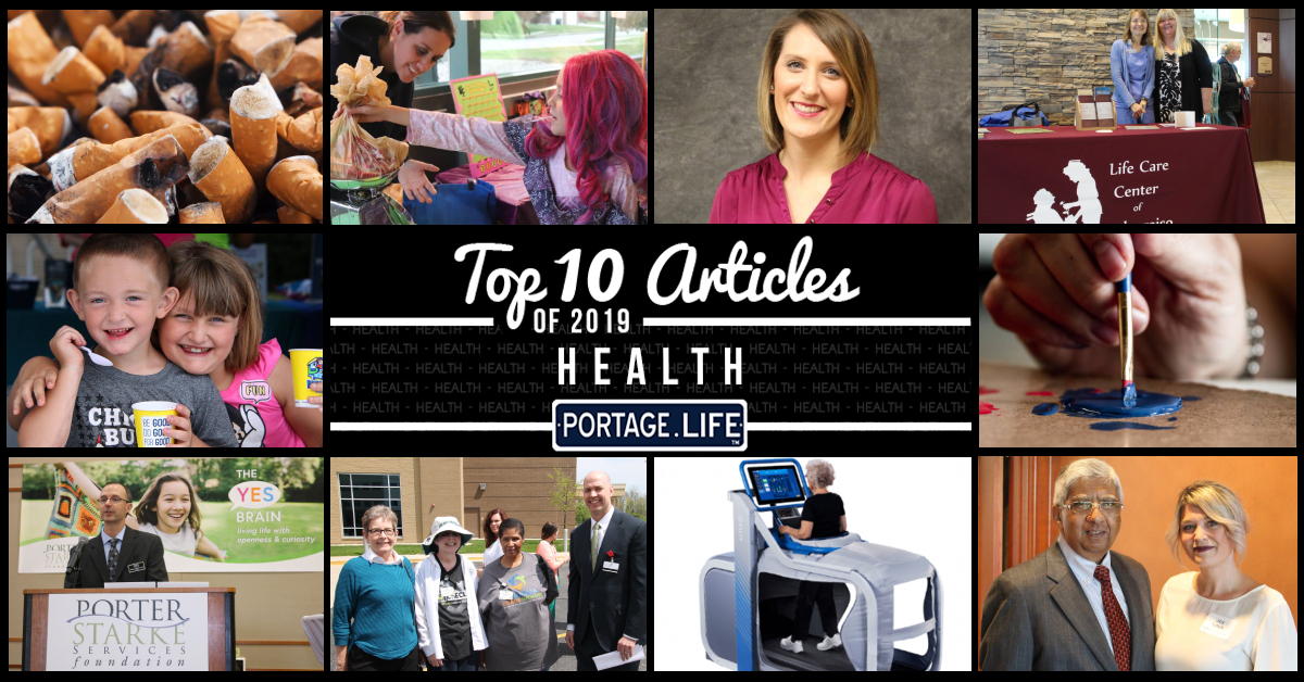 Top 10 Health Articles on Portage.Life in 2019