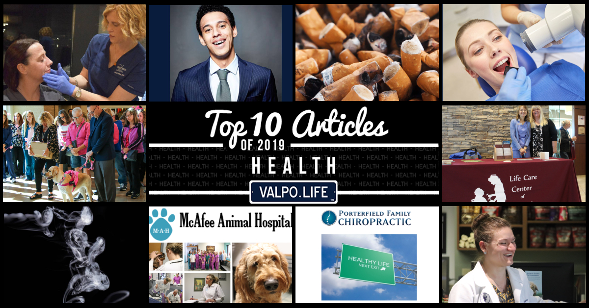 Top 10 Health Articles on Valpo.Life in 2019
