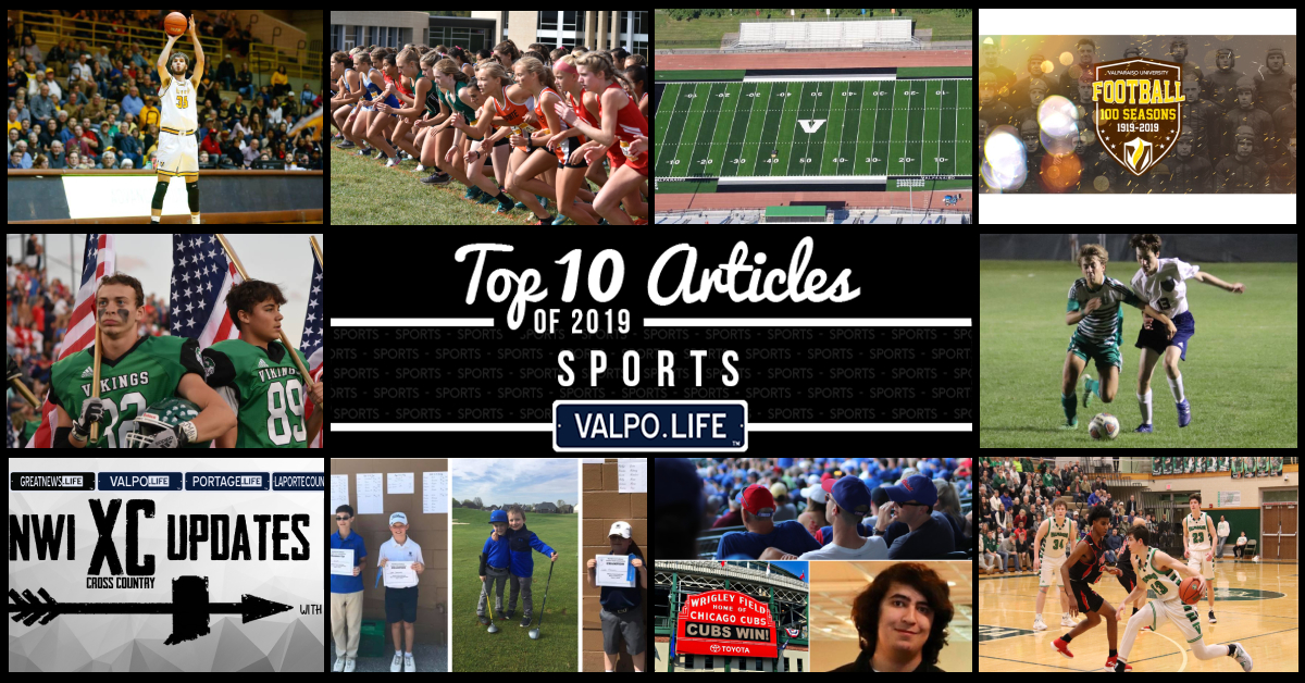 Top 10 Sports Articles on Valpo.Life in 2019