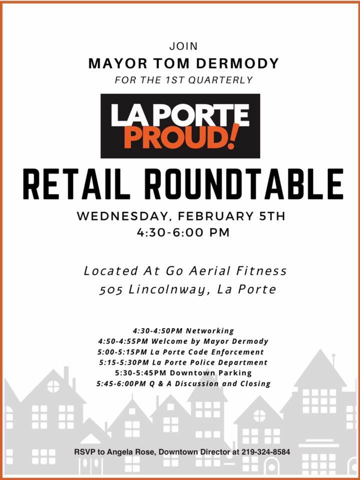 La Porte Proud Retail Roundtable