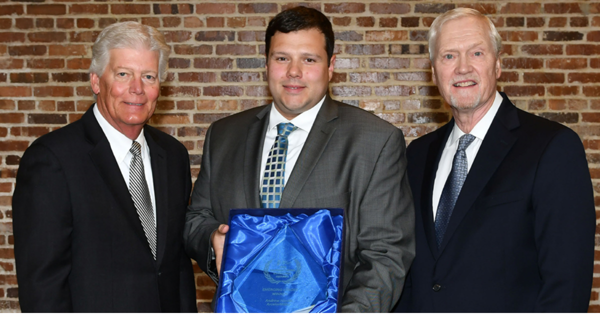 Andrew Handa honored by Indiana Manufacturing Association