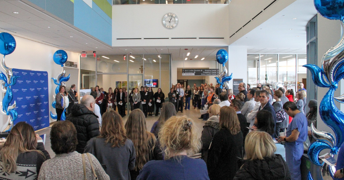 Franciscan Health Michigan City celebrates first year in new hospital