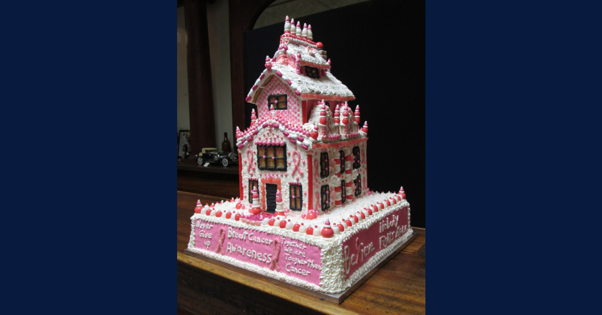 La Porte County Historical Society Museum announces winner of the 2019 gingerbread house contest