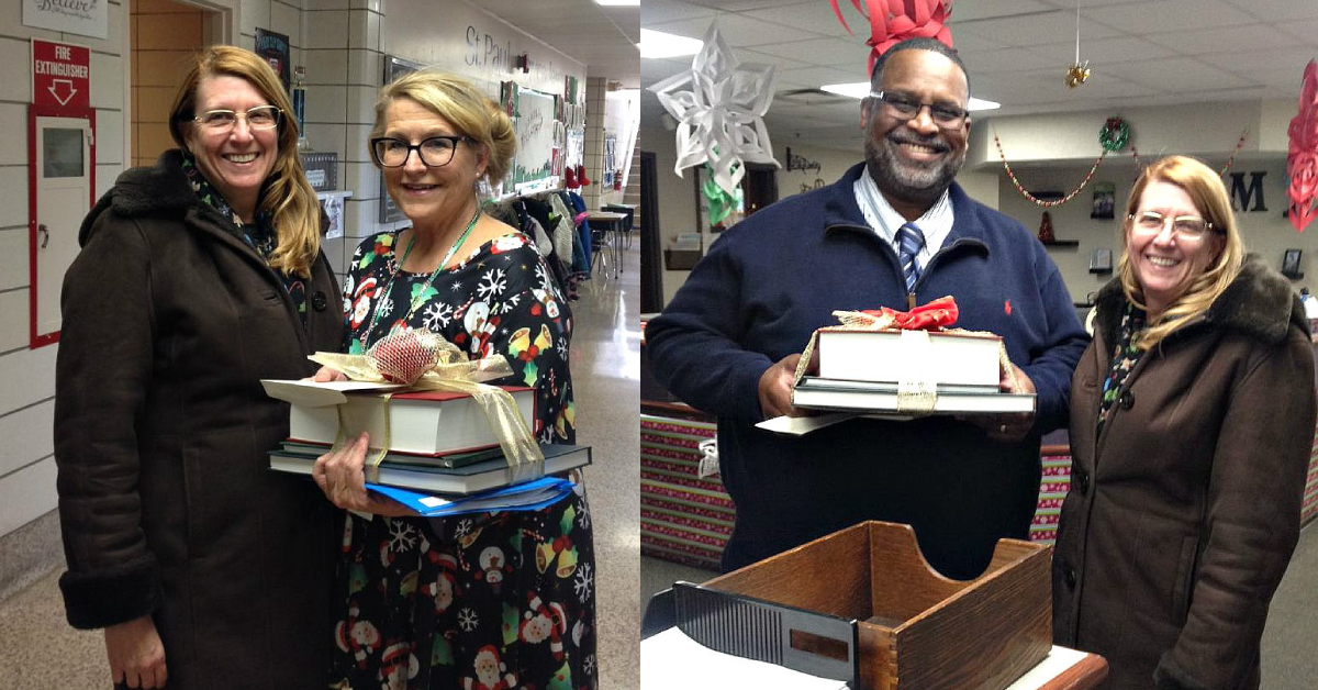 La Porte County Historical Society announces the donation of books on history of the county