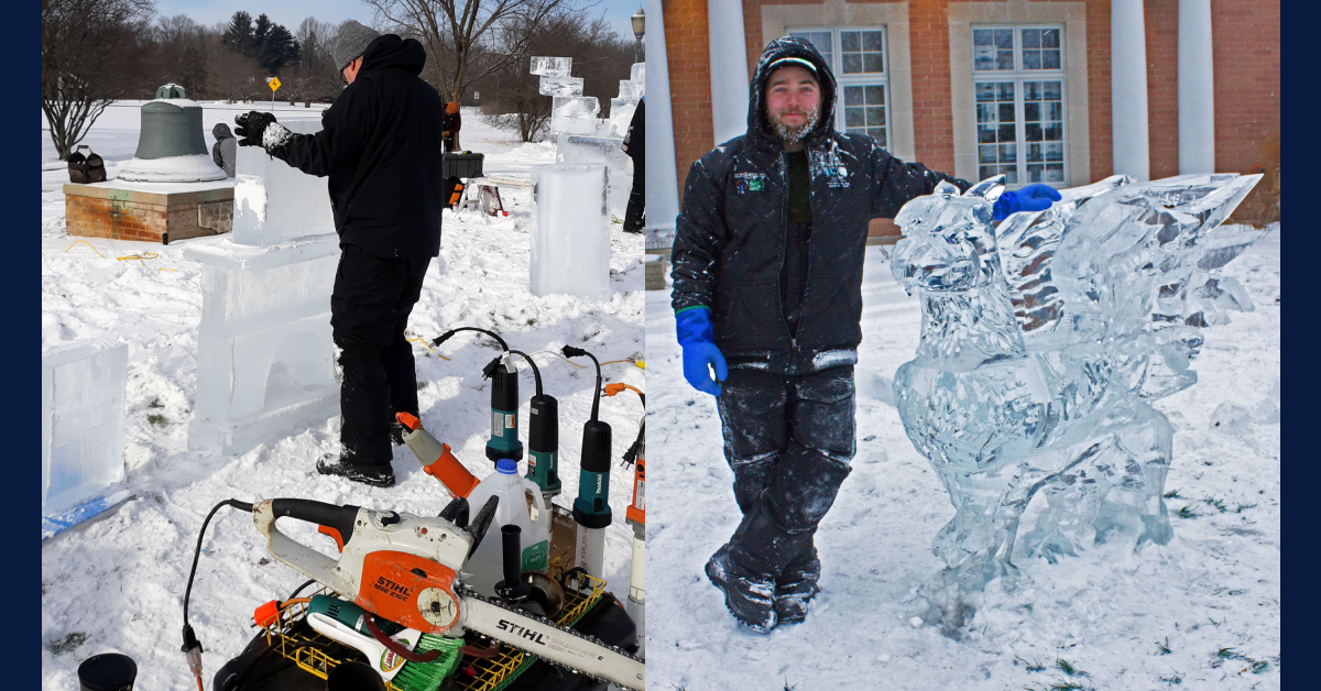 La Porte County Historical Society Museum to host second annual ice sculpting show