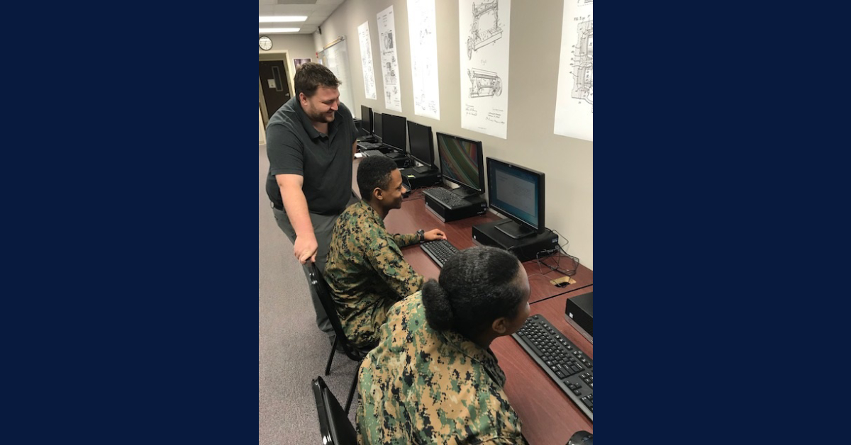 Michigan City High School MCJROTC participates in state STEM competition