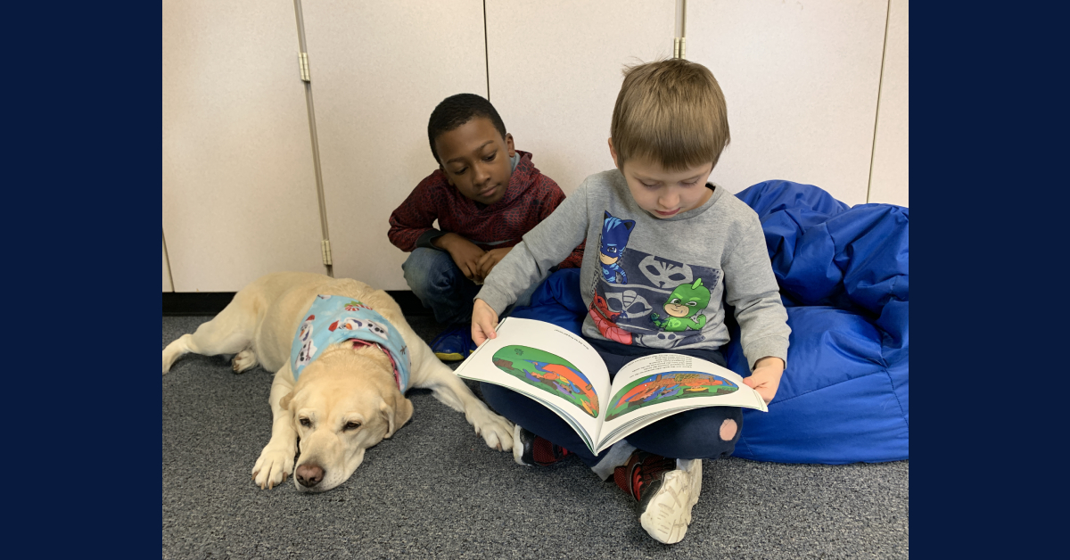 Comfort dogs assigned to two PTS elementary schools