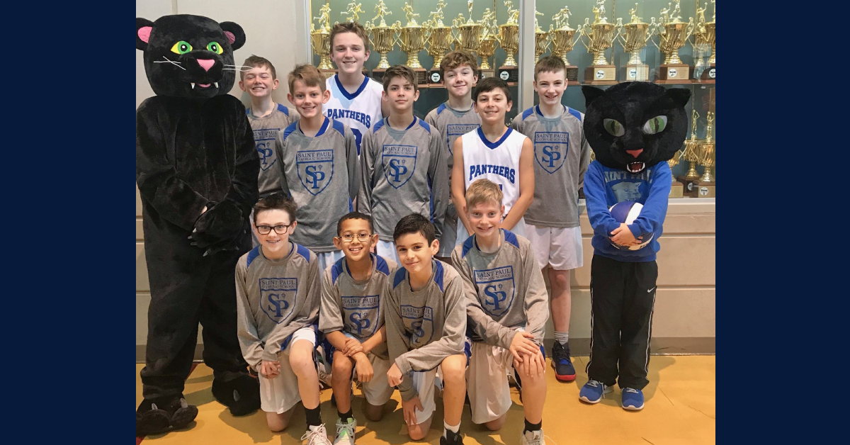 Saint Paul Catholic School's 6th-grade basketball team headed to championships
