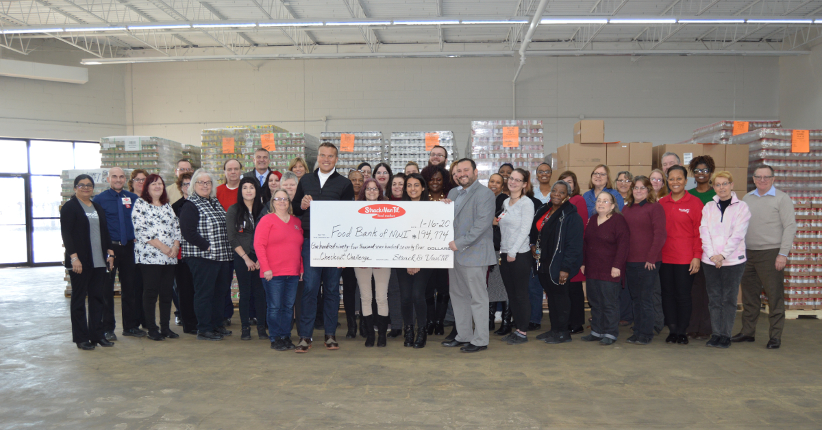 Strack & Van Til customers rally to raise $194,774 for Food Bank of Northwest Indiana during November/December Checkout Challenge