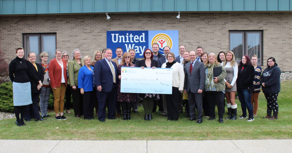 United Way of Porter County thanks donors for their steady and continued support