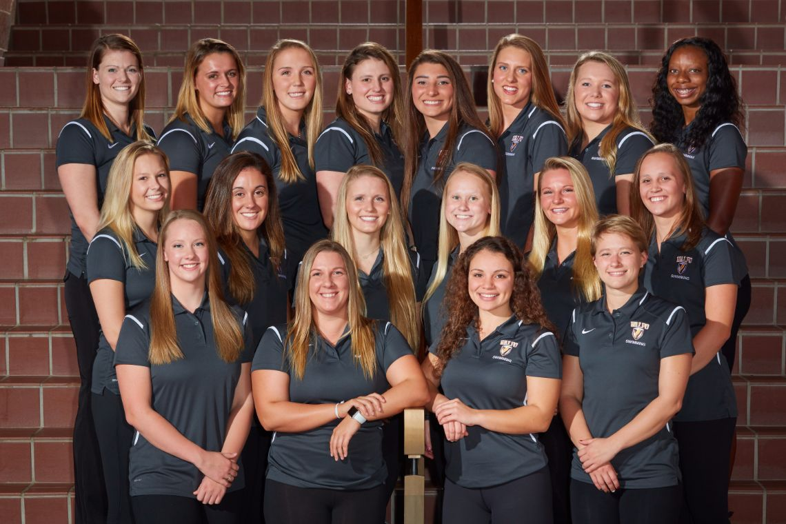 Valparaiso University's women's swim squad earns win during competition at Rose-Hulman