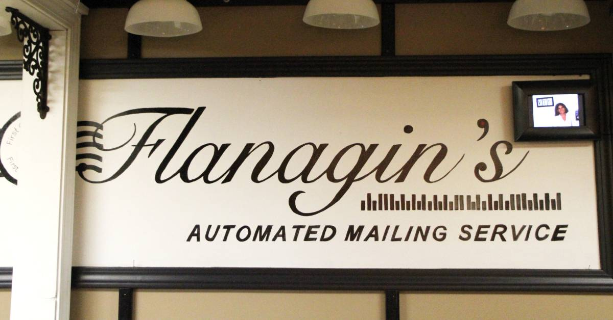 "Flanagin's Bulk Mail Service offers ""magical"" savings for large mailing projects"