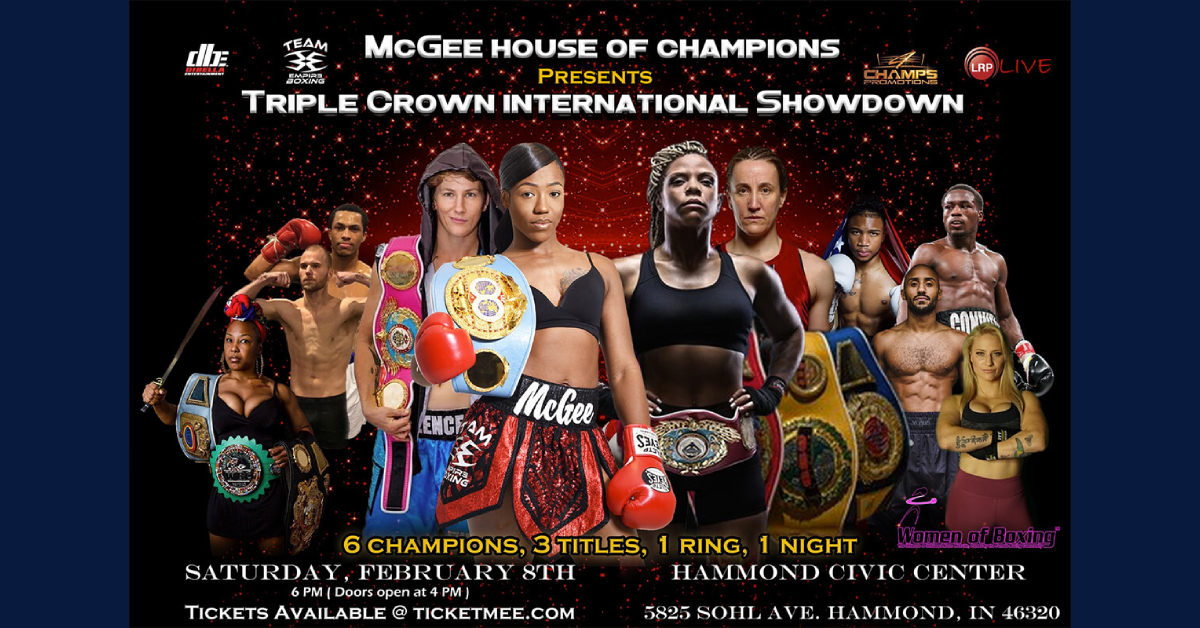 Women of Boxing Event at Hammond Civic Center