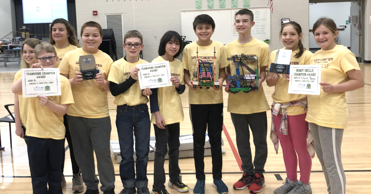 Four Westchester Intermediate robotics teams headed to state competition