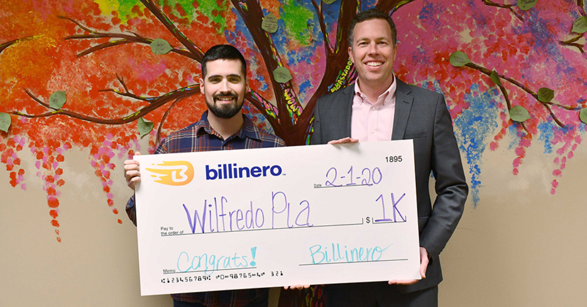Billinero savings app awards $1,000 monthly prize to U.S. Marine veteran