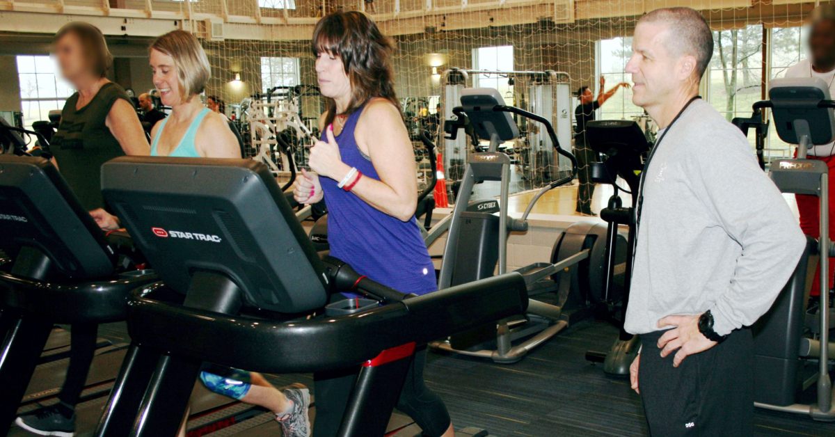 New treadmills at Community Hospital Fitness Pointe help cushion the jog, easier on joints