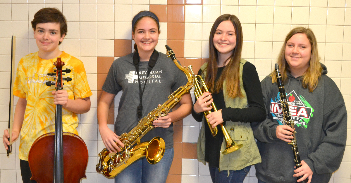 Chesterton Middle School Music Students receive All-State Honors