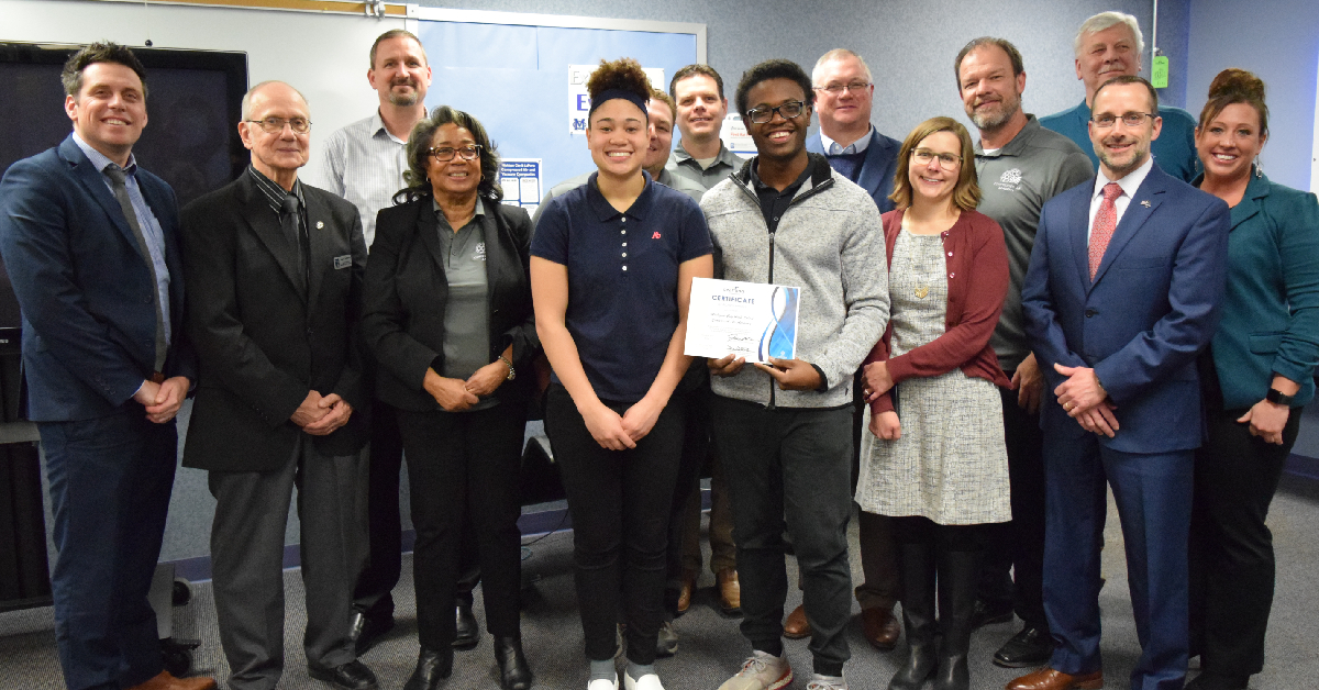 Michigan City High School's Compressed Air Academy receives State Earn and Learn certification