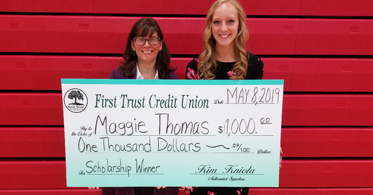 Applications for First Trust Credit Union's 2020 scholarships now accepted, trades included