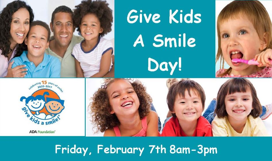 Give Kids A Smile Day at NorthShore Health Centers
