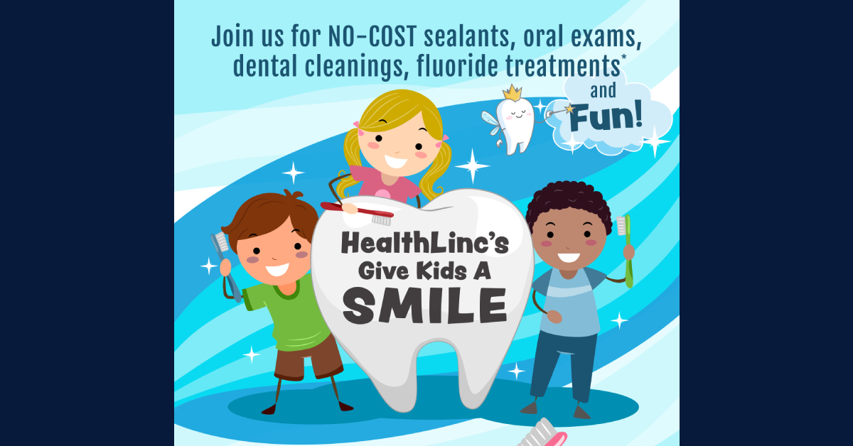 HealthLinc offers children dental care during Give Kids a Smile events