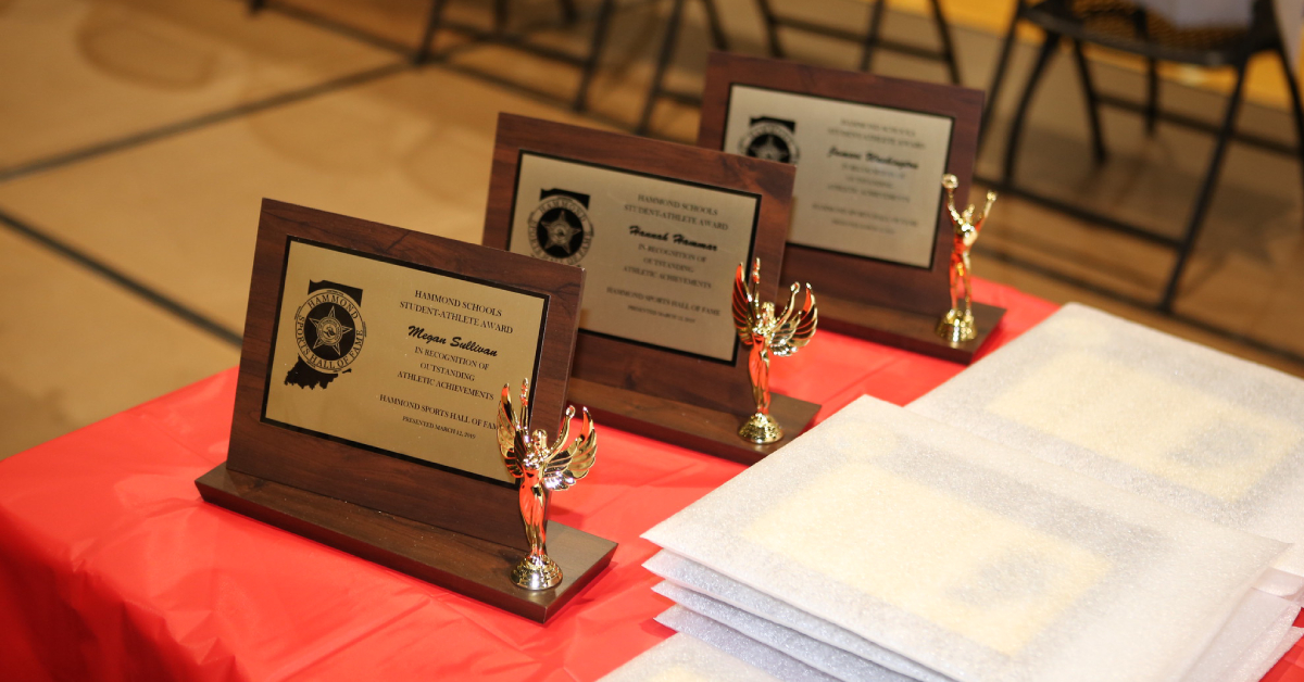 34th annual Hammond Sports Hall of Fame induction banquet