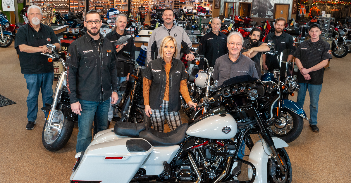 At Harley-Davidson, you're family, especially when you work there