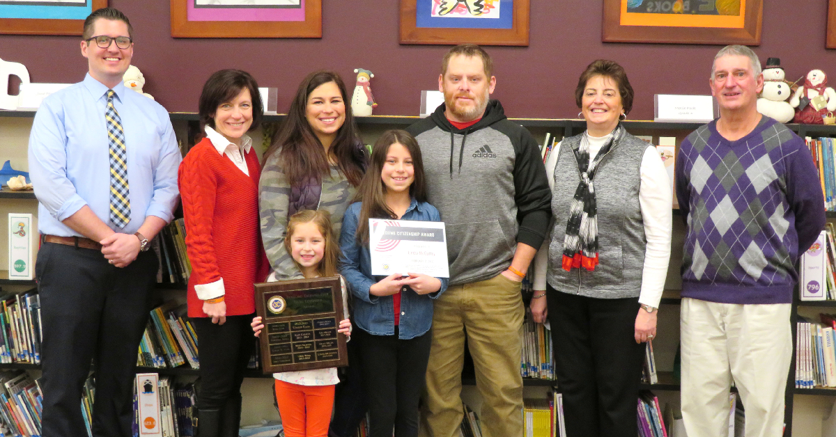 Lindsi McGuffey awarded Young Citizen Award