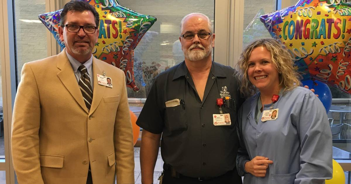 A Porter Regional Hospital Employee Spotlight: Jerry Scott