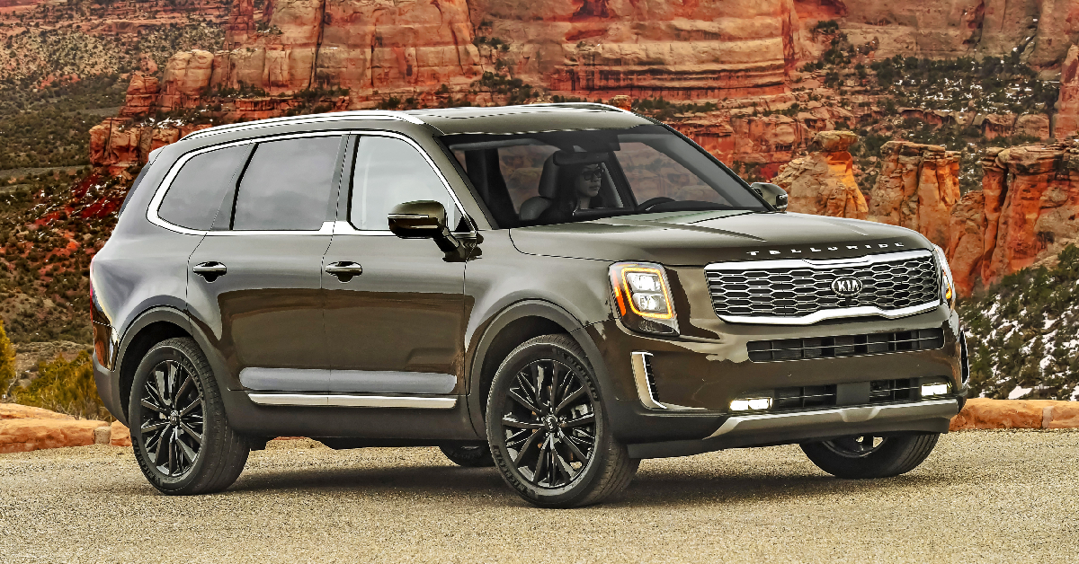 "2020 Kia Telluride takes home ""Triple Crown"" of the auto industry"