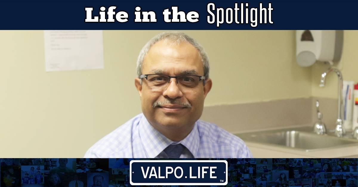 A Valpo Life In The Spotlight: Dr. Sunil Patel
