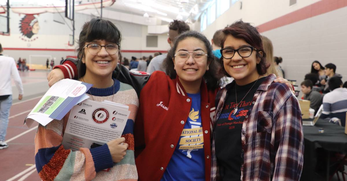 Junior Achievement Career Day offers Portage High School students authentic glimpse of work world