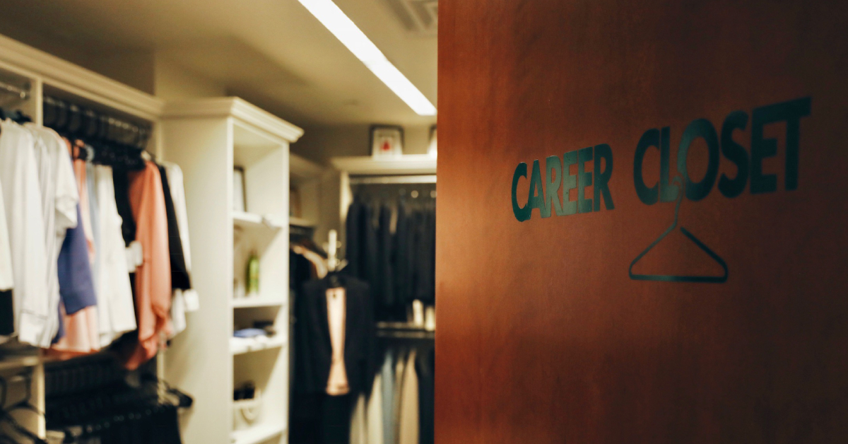 Pop up career closet at Purdue University Northwest