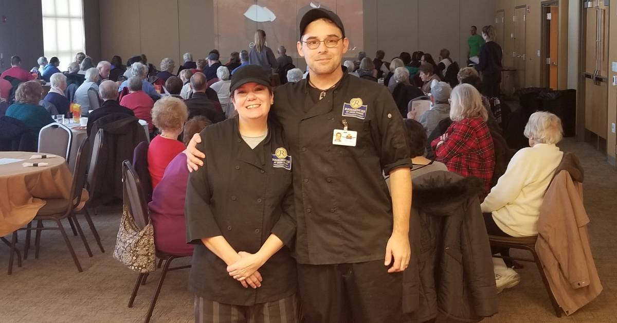 A Residences at Deer Creek Employee Spotlight: Vanessa Schiola and Steven Fehnel