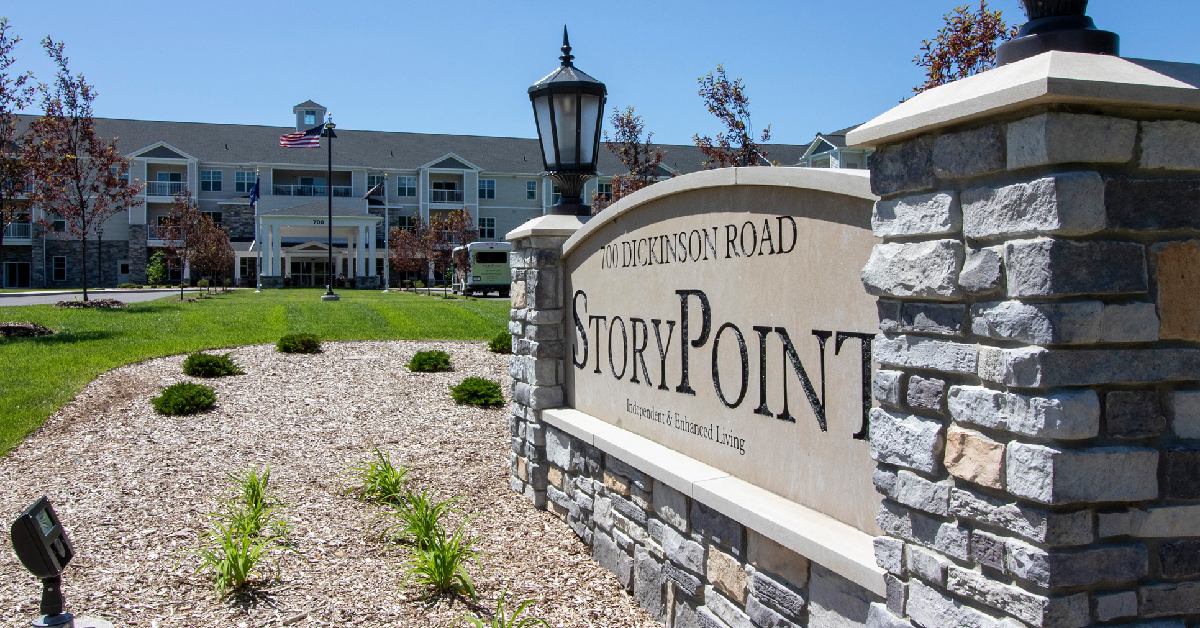 StoryPoint Chesterton wins 2020 Best of Senior Living award from SeniorAdvisor.com.