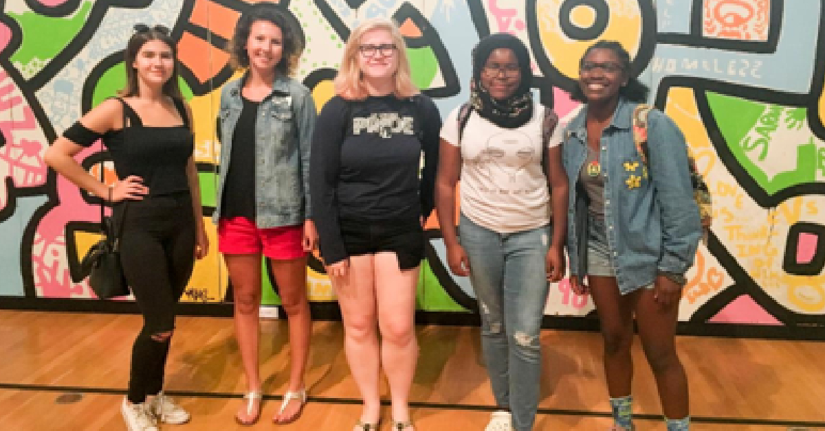 Lubeznik Center for the Arts Teen Arts Council Open House