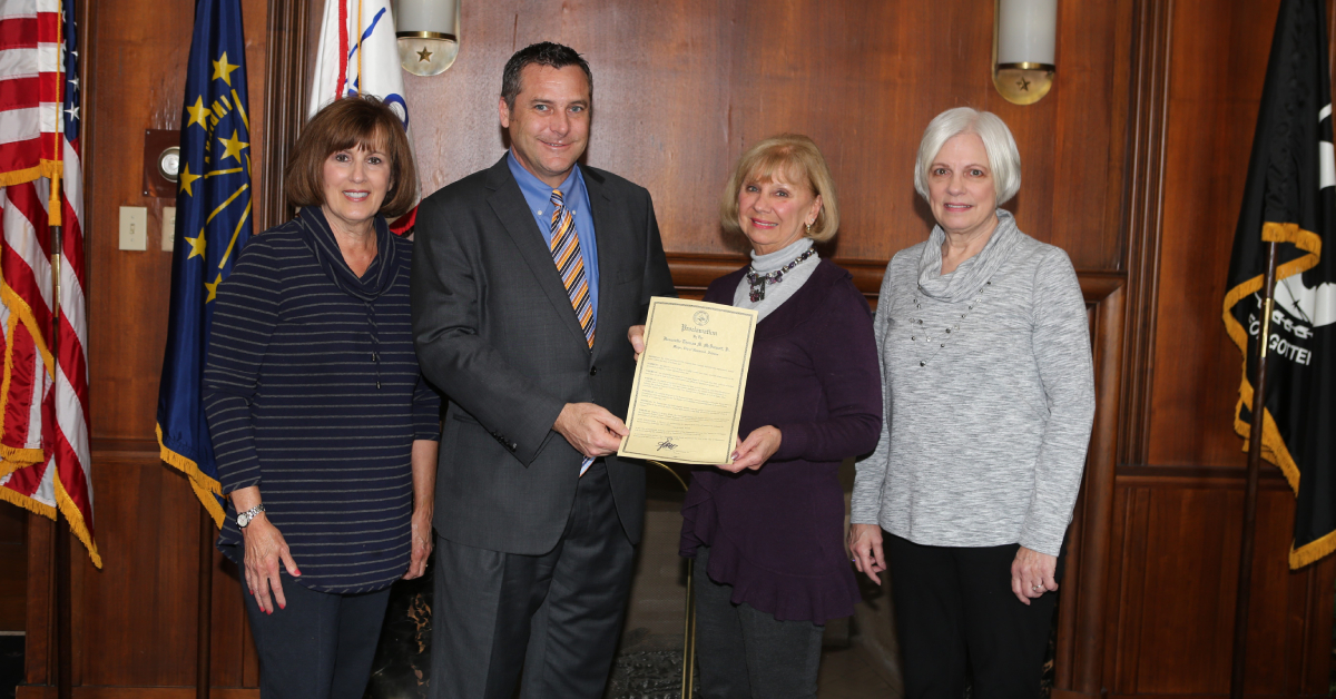 Mayor proclaims February 16-22 Tri Kappa week