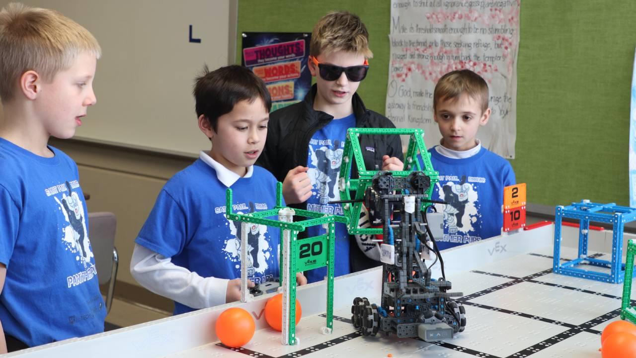 Saint Paul Catholic School Robotics Club surpasses expectations