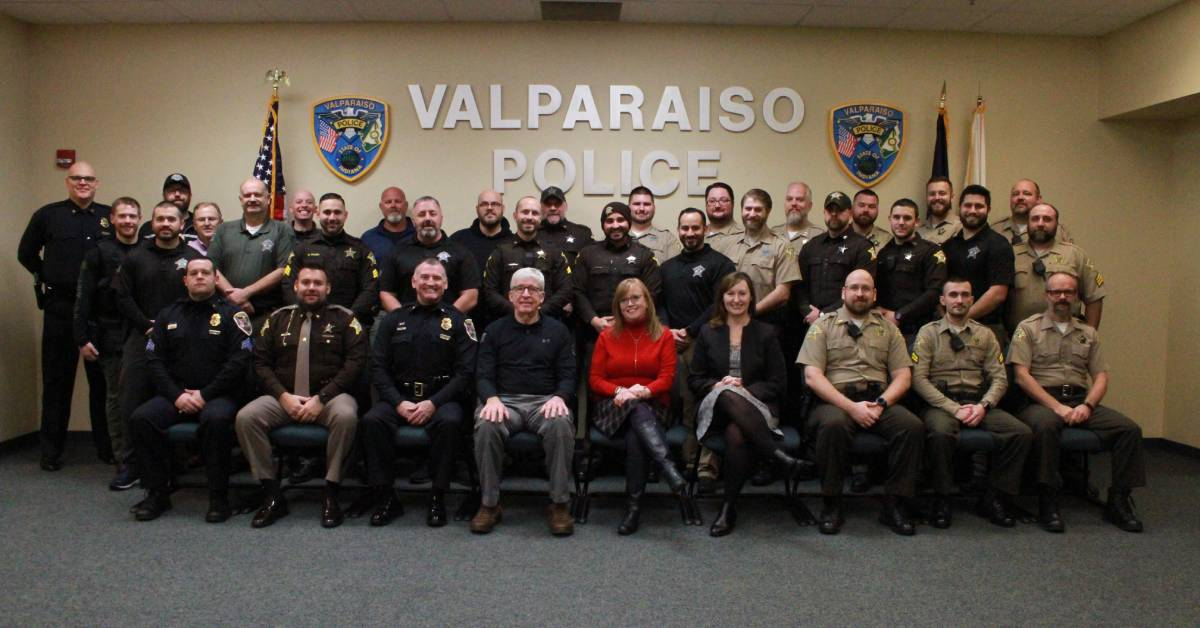 Valparaiso Police Department and Porter County Sheriff's Department raise almost $10,000 to support United Way initiatives